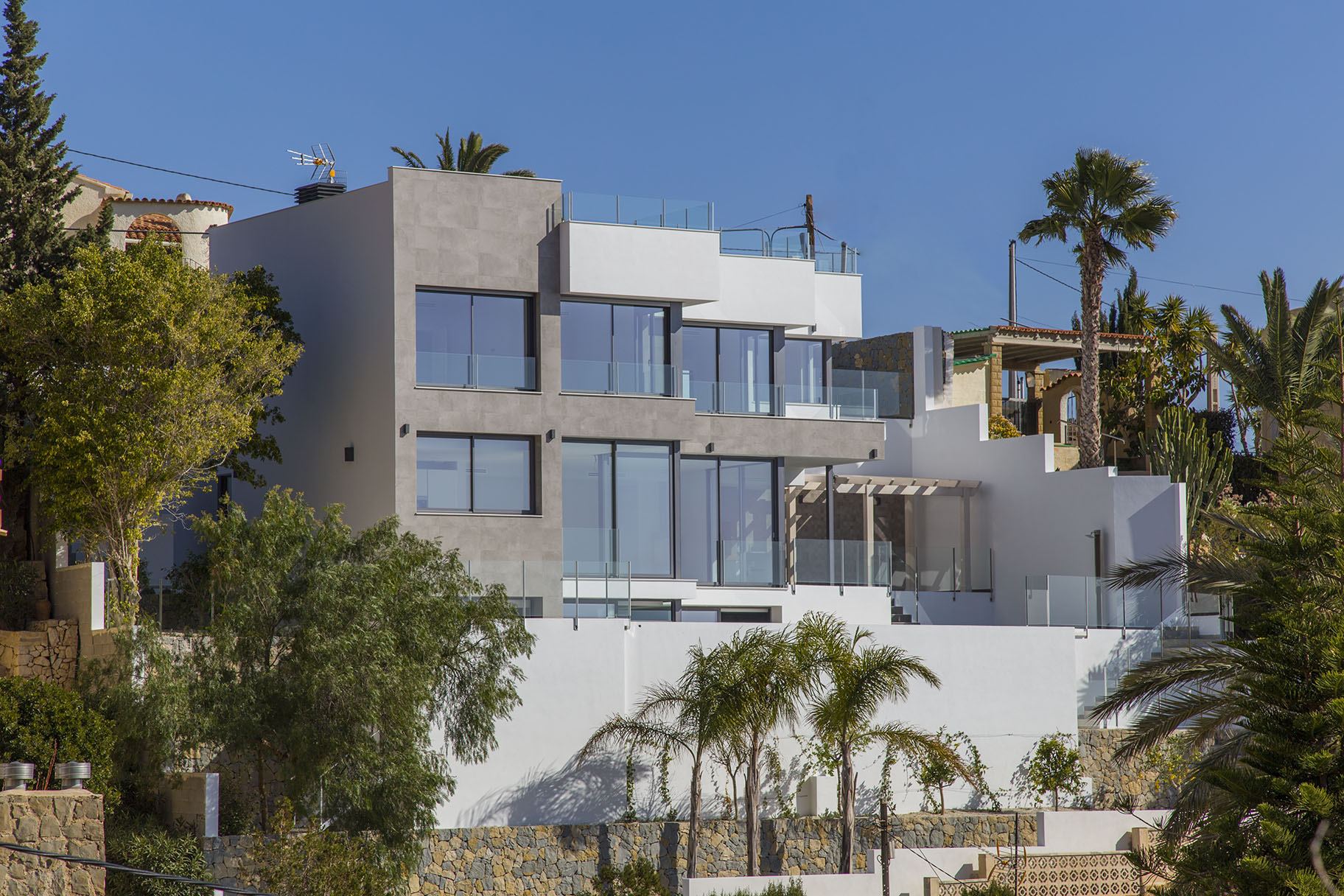 Luxury villa with seaviews in Maryvilla