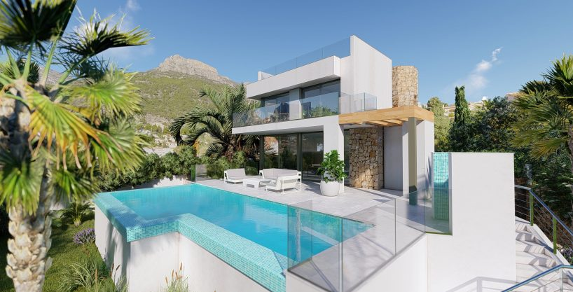 Luxury villa with Seaview, Tosal 8D