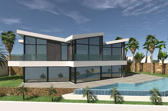 Luxury villas with panoramic Seaview in Maryvilla