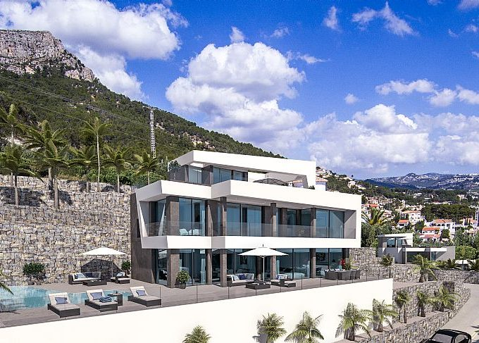 MODERN VILLAS IN CALPE