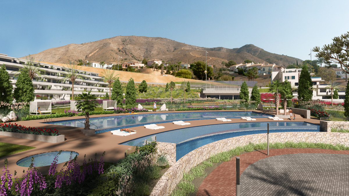 Apartments resort in Finestrat