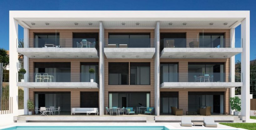 Apartments at walking distance to the beach in Javea