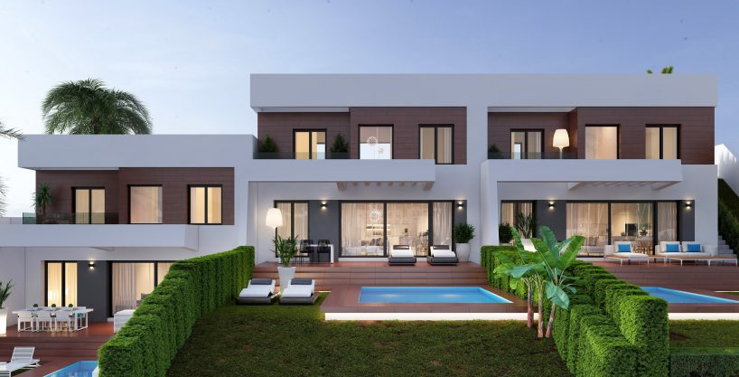 New build villas in Finestrat