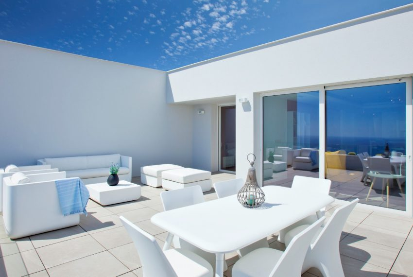 Luxury apartment complex in Cumbre del Sol