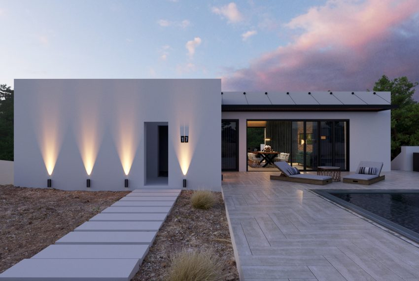 Modern villas in Las Colinas Golf