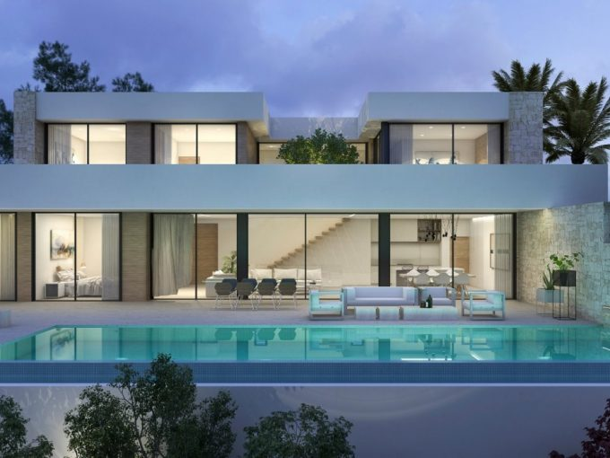 SEA VIEW VILLA NEAR THE CENTER OF MORAIRA