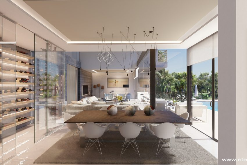 First line villa in Bassetes in Calpe