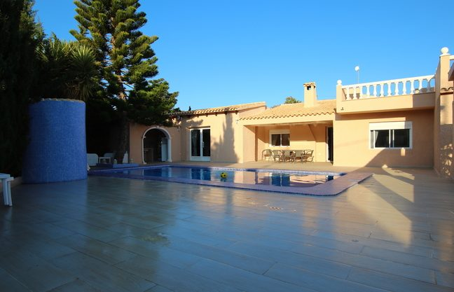 Renovated villa in Calpe